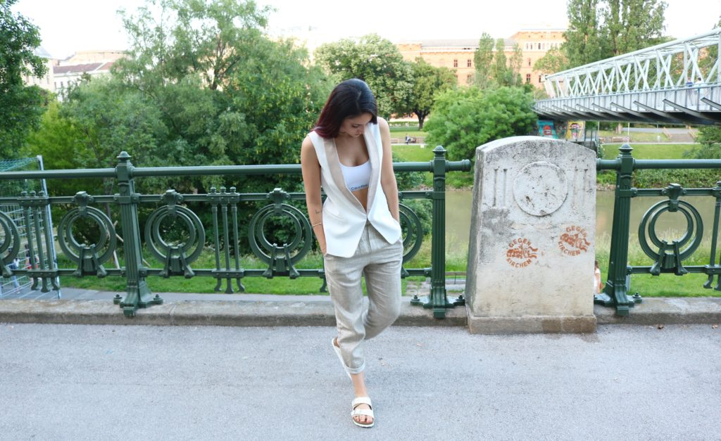 birkenstock glamour outfit 1